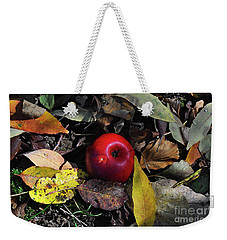 Weekender Tote Bag featuring the photograph Hidden Temptation by Diane E Berry