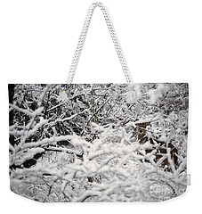 Weekender Tote Bag featuring the photograph Hidden Treasure by Eric Liller