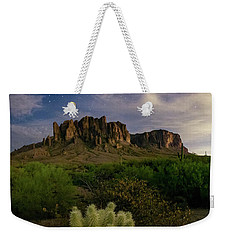 Weekender Tote Bag featuring the photograph Hidden Treasure by Tassanee Angiolillo