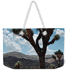 Hidden Valley Joshua Tree Portrait Weekender Tote Bag