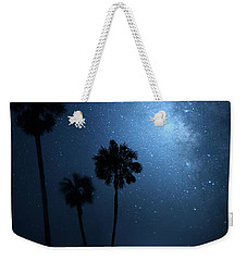 Weekender Tote Bag featuring the photograph Hidden Worlds by Mark Andrew Thomas