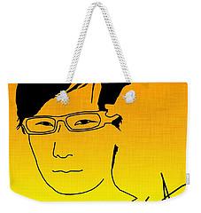 Hideo Kojima Weekender Tote Bag by Kyle West