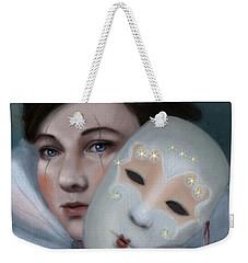 Hiding Behind Masks Weekender Tote Bag