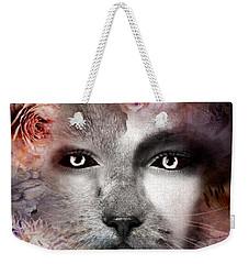 Hiding Catlady Weekender Tote Bag