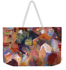 Hiding From Life Around Me Weekender Tote Bag