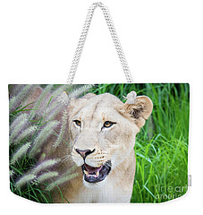 Hiding In Grass Weekender Tote Bag
