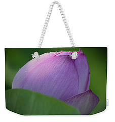 Hiding Lotus Weekender Tote Bag