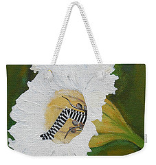 Fairy Hiding Place Inside The Hawaiian Lily Weekender Tote Bag