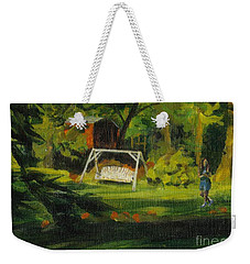 Hiedi's Swing Weekender Tote Bag