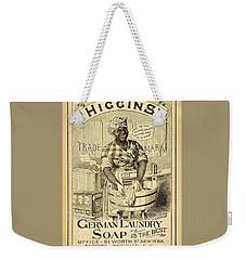 Higgins German Laundry Soap Weekender Tote Bag