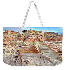 High Above Valley Of Fire Weekender Tote Bag