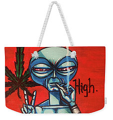 High Alien Weekender Tote Bag
