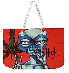 High Alien Weekender Tote Bag