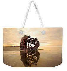 High And Dry, The Peter Iredale Weekender Tote Bag