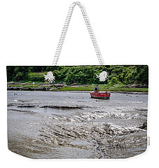 Weekender Tote Bag featuring the photograph High And Dry by Geoff Smith