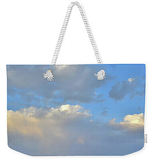 High Clouds Over Caineville Wash Weekender Tote Bag