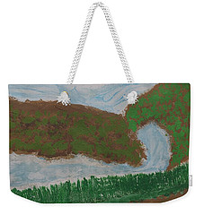 Weekender Tote Bag featuring the painting High Country  by Don Koester