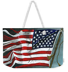 High Crimes And Misdemeanors Weekender Tote Bag