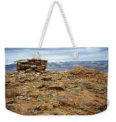 High Desert Cairn Weekender Tote Bag