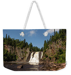 High Falls At Tettegouche State Park Weekender Tote Bag