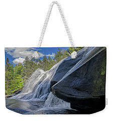 Weekender Tote Bag featuring the photograph High Falls One by Steven Richardson