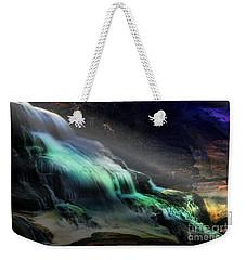 High Falls Sunset Weekender Tote Bag