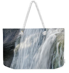 Weekender Tote Bag featuring the photograph High Falls Three by Steven Richardson