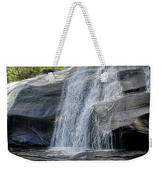 Weekender Tote Bag featuring the photograph High Falls Two by Steven Richardson