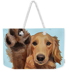 High Five Weekender Tote Bag