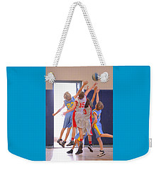 High Fives Weekender Tote Bag
