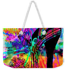 High Heel Heaven Abstract Weekender Tote Bag