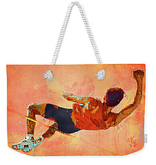 High Jumper Weekender Tote Bag