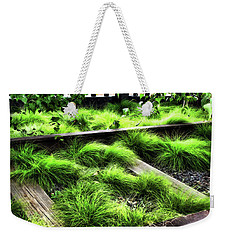 High Line Nyc Railroad Tracks Weekender Tote Bag