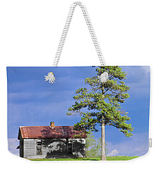 Weekender Tote Bag featuring the photograph High On That Mountain by Nick Kirby