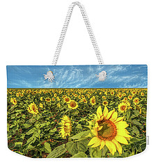 High Plains Sunflowers Weekender Tote Bag