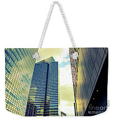 High Rise Reflections Nyc Weekender Tote Bag