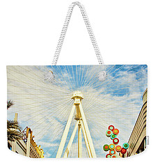 High Roller Wheel, Las Vegas Weekender Tote Bag