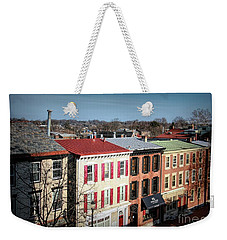 High Street In Historic Downtown West Chester, Pennsylvania Weekender Tote Bag