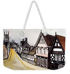 High Street Of Stamford In England Weekender Tote Bag