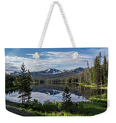 High Summer At Sylvan Lake Weekender Tote Bag