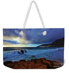 High Tide At Pray For Sex Beach Weekender Tote Bag by Craig Wood