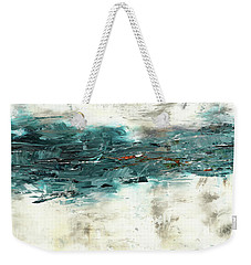 Weekender Tote Bag featuring the painting High Tide by Carmen Guedez