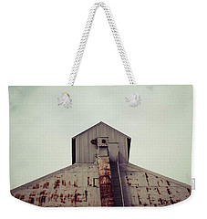 Weekender Tote Bag featuring the photograph High View by Trish Mistric