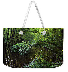 High Water At The Arches Weekender Tote Bag