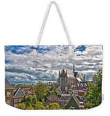 Highland Church Seen From Leiden Castle Weekender Tote Bag