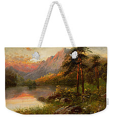 Highland Solitude Weekender Tote Bag by Frank Hider