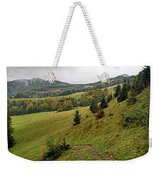 Highlands Landscape In Pieniny Weekender Tote Bag