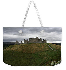 Weekender Tote Bag featuring the photograph Highlands by Mary-Lee Sanders