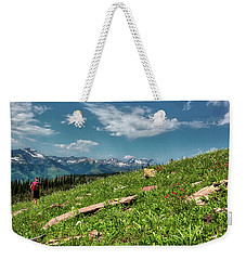 Highline Trail Adventure Weekender Tote Bag