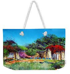 Highveld House Weekender Tote Bag by Tim Johnson